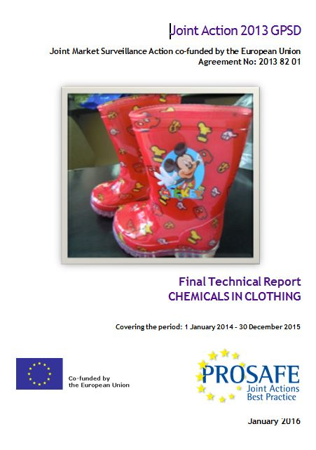 JA2013 Chemicals clothing Final report